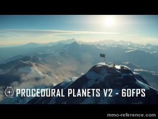 Vidéo Star Citizen - v2 des Planètes procédurales