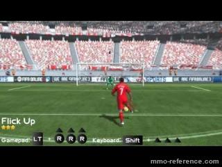 Vidéo Fifa online 3 - Les mouvements (Flick Up)