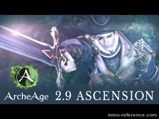 Vidéo ArcheAge 2.9 - Découverte de Ascension