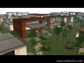 Vidéo Second Life - Acheter une maison privée dans le jeu