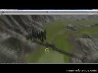 Vidéo Saga Of Lucimia - Survol d'une zone de jeu en construction