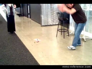 Vidéo Aion - On s'amuse bien dans les bureaux de NCsoft !