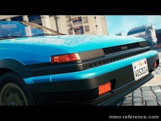 Vidéo World of Speed - La Toyota Corolla GT-S (AE86)