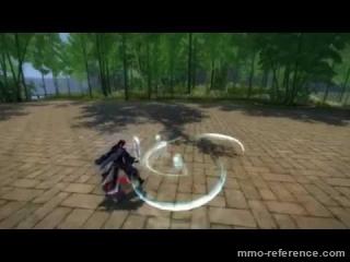 Vidéo Age of Kungfu - Aperçu d'un combat en ligne