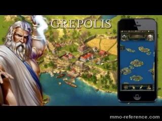 Vidéo Jouer à Grepolis Gratuitement sur iPhone
