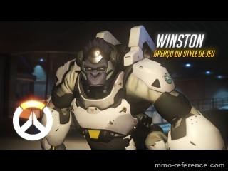 Vidéo Overwatch - Découvrir le personnage de Winston en pleine action