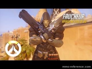 Vidéo Overwatch - Découvrir le personnage de Faucheur en pleine action