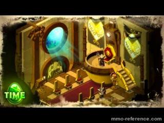 Vidéo Dofus - Visite du Le Temple Steamer