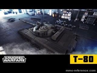 Vidéo Armored Warfare - Le char de combat principal - T-80