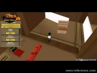 Vidéo Pumpkin Online - Customisation des maisons dans le jeu