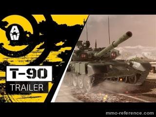 Vidéo Armored Warfare - Jouer maintenant avec le tank T-90