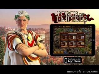 Vidéo Jouer à Forge of empires sur Ipad maintenant