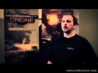 Vidéo MechWarrior Online - Interivew des développeurs au GDC 2012