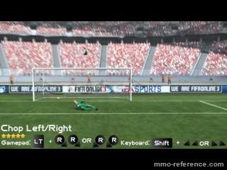 Vidéo Fifa online 3 - Les mouvements (Chop)