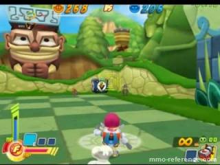 Vidéo Robo Smasher - Déroulement d'une partie en ligne