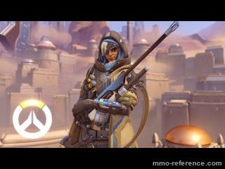 Vidéo Overwatch - Ana, nouvelle héroïne prêt à vous défendre !