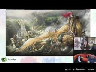 Vidéo ArcheAge - Livestream du MMORPG 15-08-2016
