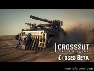 Vidéo Crossout - Lancement de la bêta fermée