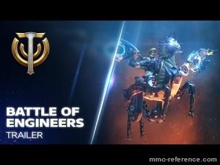 Vidéo Skyforge - Bataille des ingénieurs (modernisation des véhicules de combat)