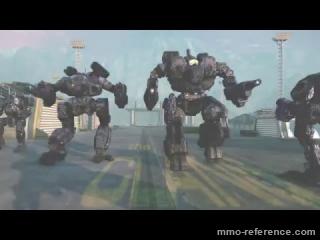 Vidéo MechWarrior Online - Toutes les évolutions depuis la sortie du jeu