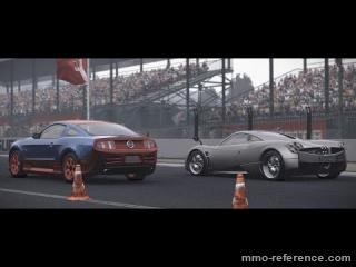 Vidéo World of Speed - La Pagani Huayra contre la Ford Mustang GT