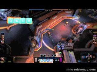 Vidéo Comment jouer au MOBA Games of Glory sur l'apha ?