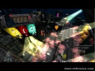 Vidéo Second Life - Un univers Sci-fi s'offre à vous