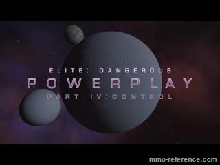 Vidéo Elite Dangerous - Contrôle du Powerplay