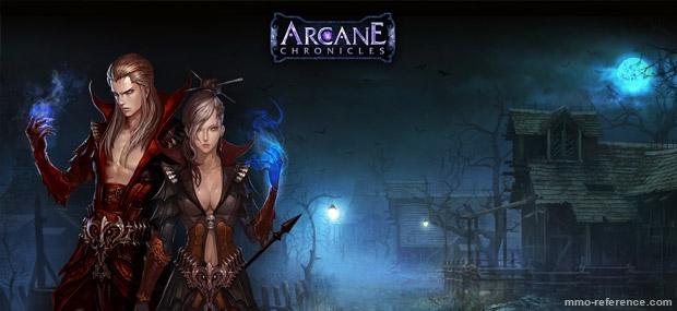 Bannière Arcane Chronicles