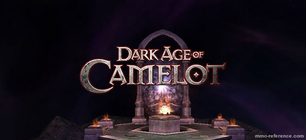 Bannière Dark Age Of Camelot - Darkness Rising