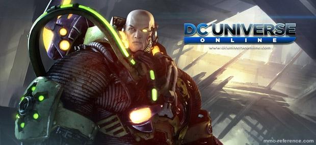 Bannière DC Universe Online - Crise des Origines