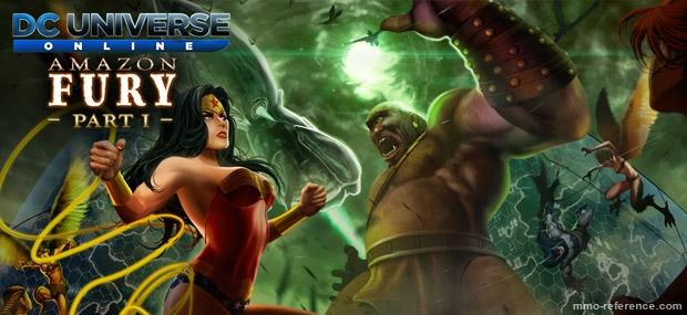 Bannière DC Universe Online - Furie des Amazones