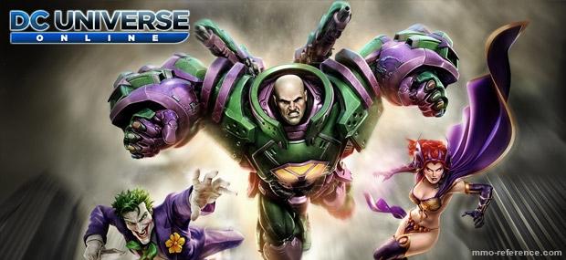 Bannière DC Universe Online- Notre Territoire
