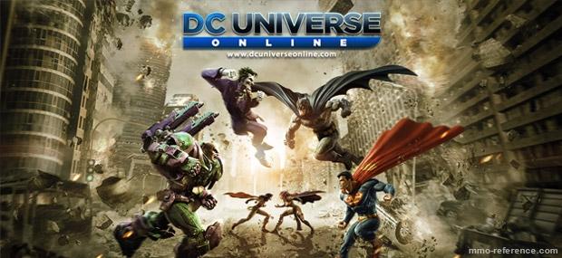 Bannière DC Universe Online