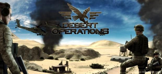 Bannière Desert Operations