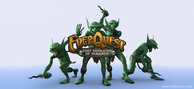 Bannière EverQuest - Lost Dungeons of Norrath