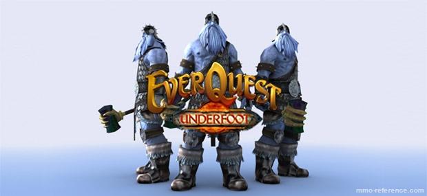 Bannière EverQuest - Underfoot