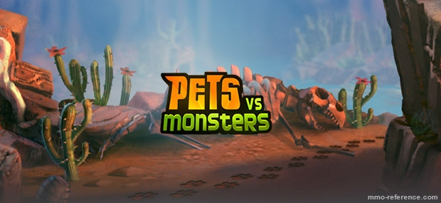 Bannière Pets Vs. Monsters