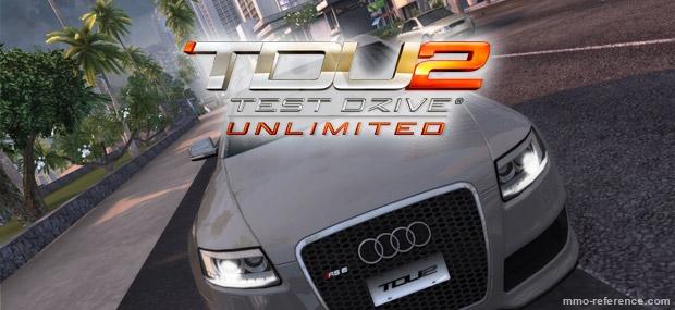 Bannière Test Drive Unlimited 2